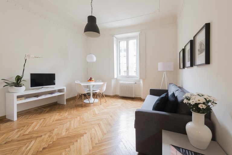 Appartamento alla moda con 2 camere in affitto a Porta Venezia