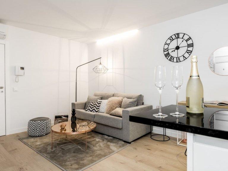 Studio apartment for rent in Príncipe Pío, Madrid