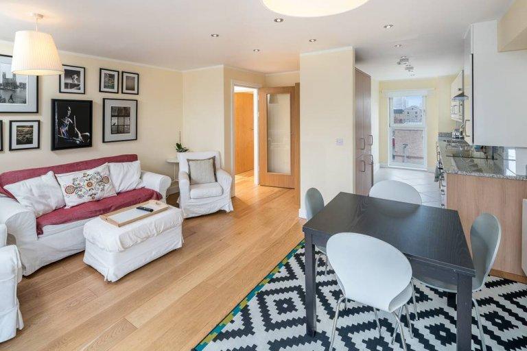 Przytulne 3-pokojowe mieszkanie do wynajęcia w Battersea w Londynie