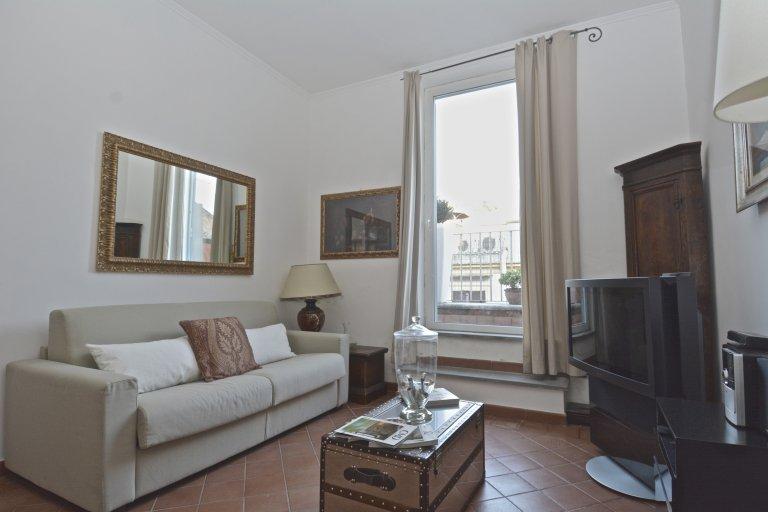 Confortable appartement 1 chambre à louer à Centro Storico, Rome