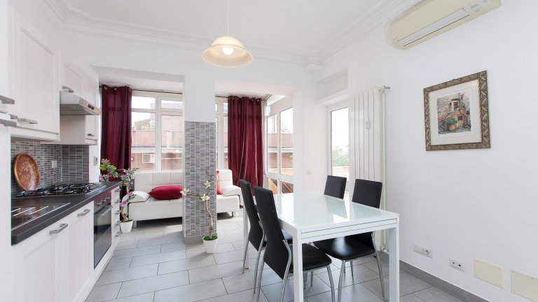 5-bedroom apartment for rent in Monteverde, Rome