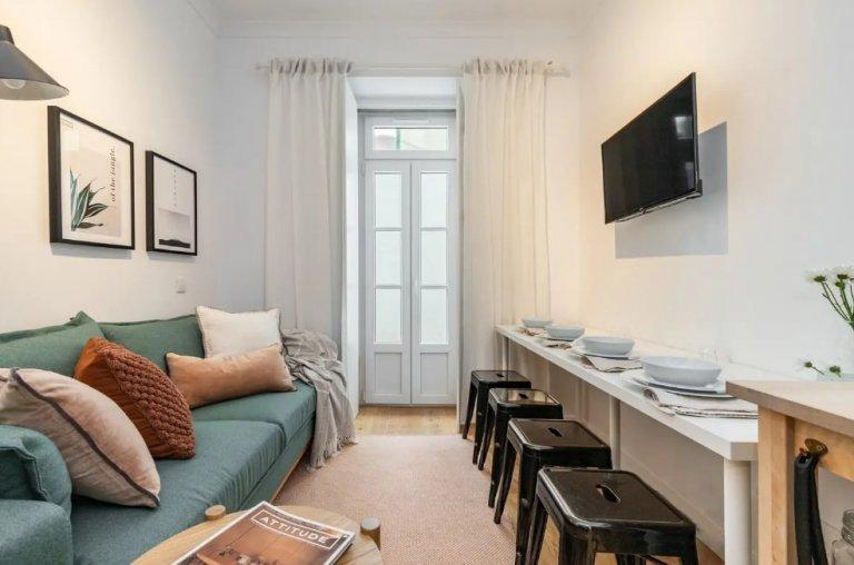 Apartamento de 1 quarto para alugar em Penha França, Lisboa