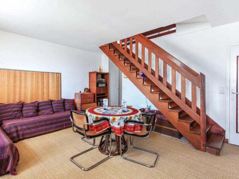 Klasyczne 1-pokojowe mieszkanie do wynajęcia w Vincennes, Paryż