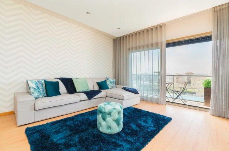 Lizbon Lumiar, kiralık muhteşem 3 yatak odalı daire