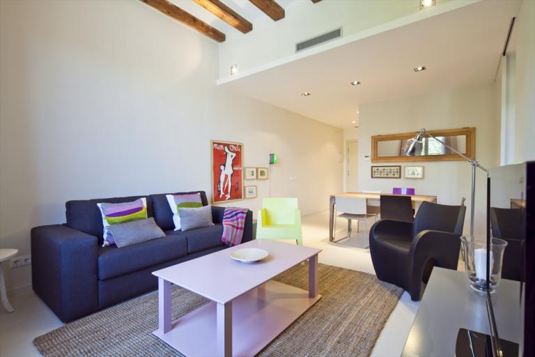 Jasne mieszkanie 1-pokojowe do wynajęcia w El Born, Barcelona