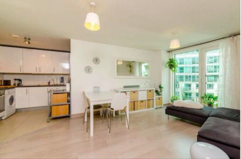Jasne mieszkanie z 1 sypialnią do wynajęcia w Lambeth w Londynie