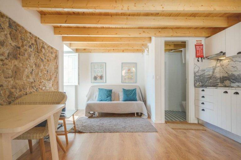 Apartamento de 1 quarto para alugar em Belém, Lisboa