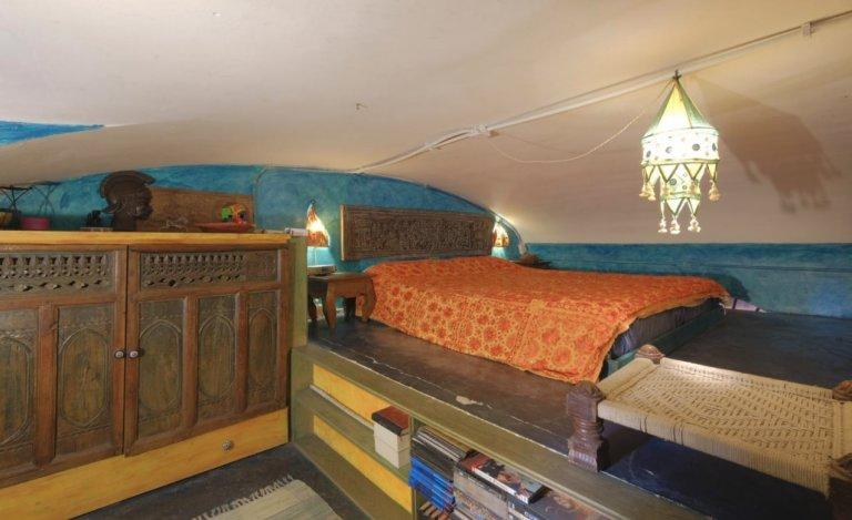 Quarto Artsy em apartamento de 2 quartos em Trieste, Roma