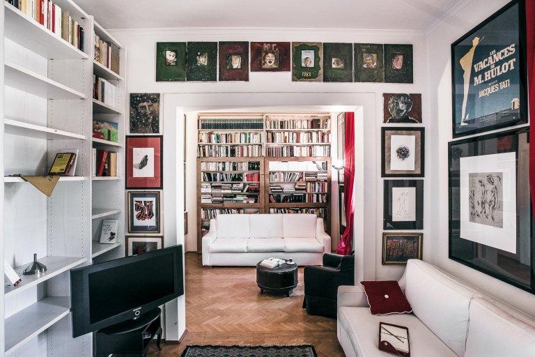 Cool 1-bedroom apartment for rent in Prati, Rome