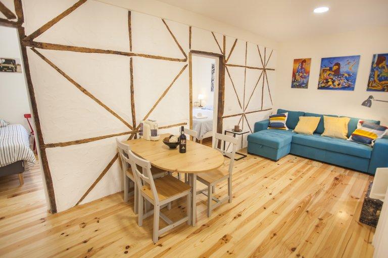 Acolhedor com 2 quartos para alugar na Penha de França, Lisboa