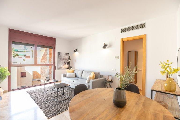 Apartamento de 2 quartos para alugar em Badalona, Barcelona