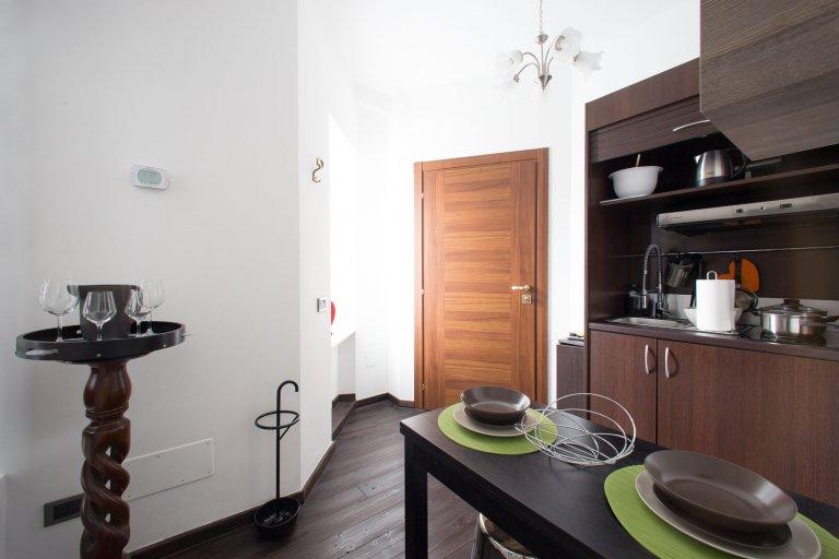 Apartamento de 1 quarto de luxo para alugar em Duomo, Milão