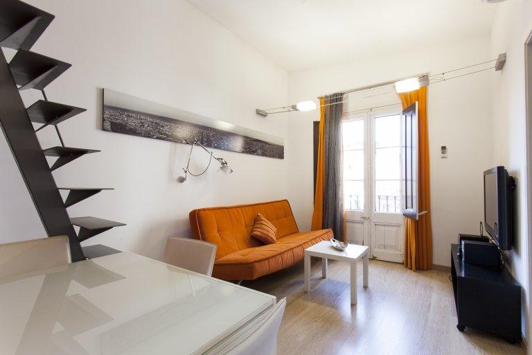 1-pokojowe mieszkanie do wynajęcia w El Raval, Barcelona