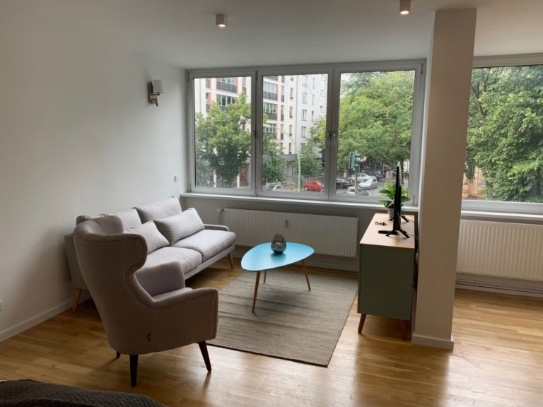 Bright studio apartment for rent in Wilmersdorf, Berlin