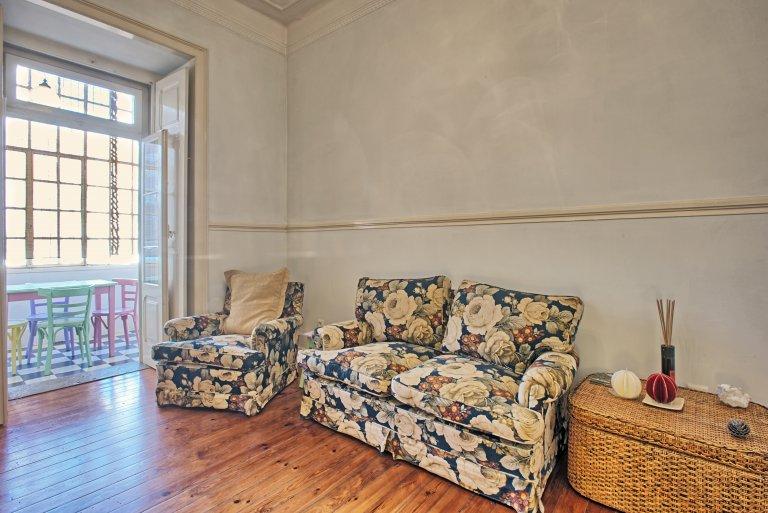 Appartamento con 3 camere da letto in affitto a Santa Cruz, Lisbona