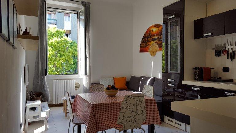 Apartamento de 1 quarto para alugar em Sempione, Milão