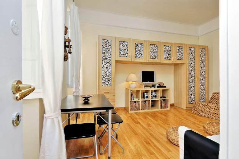 Charming 1-bedroom apartment for rent in Rome