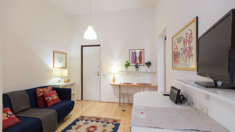 Apartamento de 1 quarto para alugar em Prati, Roma