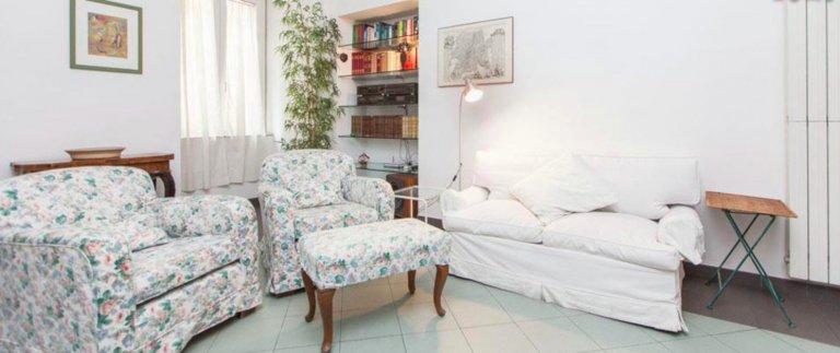 Apartamento de 2 quartos vintage para alugar em Prati, Roma