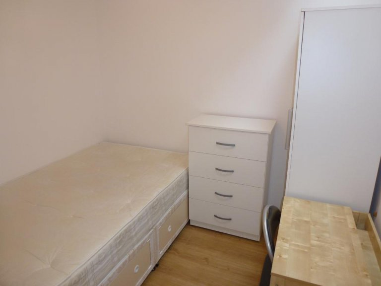 Single Bed in Rooms for rent in spacious 5-bedroom home in Gladstone Mews