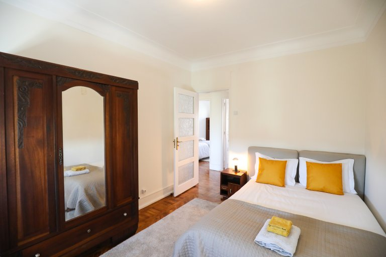 Belle chambre à louer à Areeiro, Lisbonne
