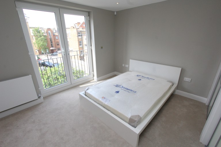 Bedroom 2 with a double bed