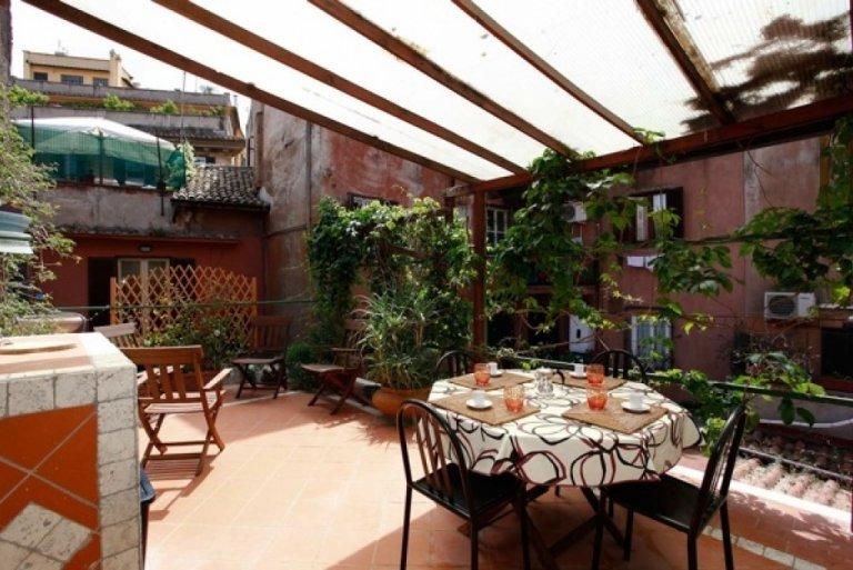 Appartement avec 2 chambres à louer à Trastevere, Rome