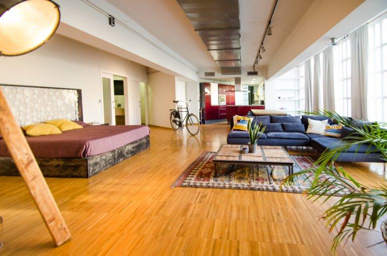 Centralny apartament typu studio do wynajęcia w Poblenou, Barcelona