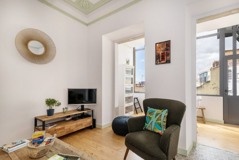 Ótimo apartamento de 2 quartos para alugar em Arroios, Lisboa