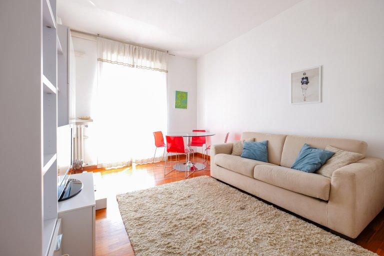 Lindo apartamento de 1 quarto para alugar em Bicocca, Milão