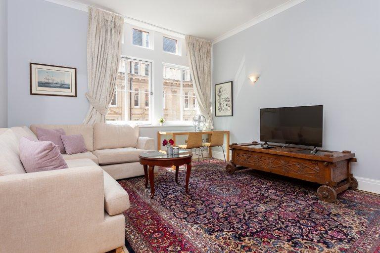 Przewiewne 1-pokojowe mieszkanie do wynajęcia w City of London
