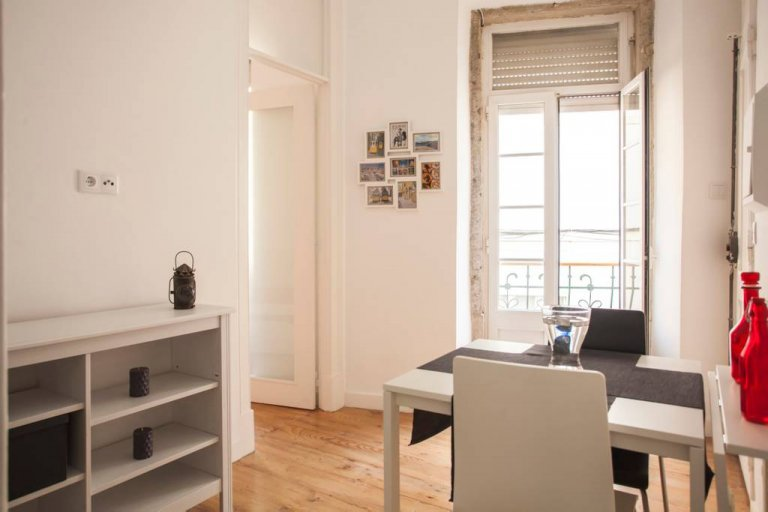 1-bedroom apartment for rent in Castelo, Lisbon