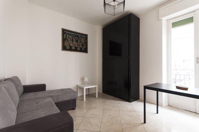 Apartamento de estúdio para alugar em Bovisa, Milão
