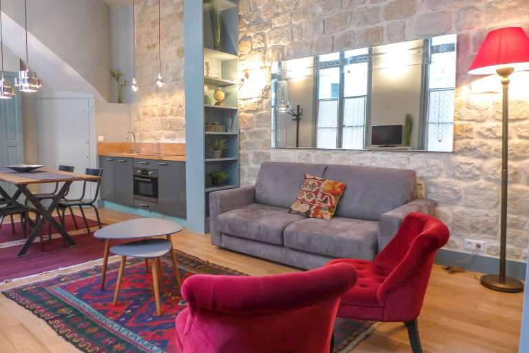 1-bedroom apartment for rent in the 4th arrondissement