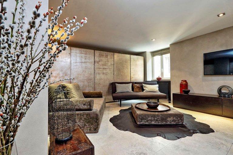Chic appartement de 3 chambres à louer à Trastevere, Rome