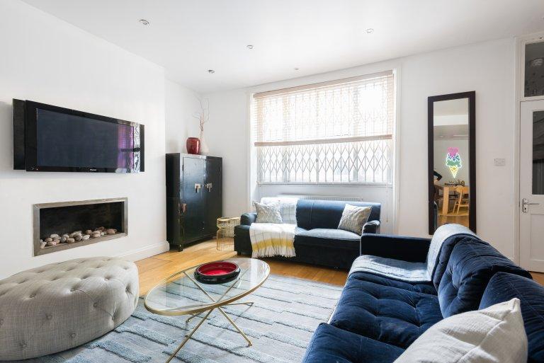Appartement rustique de 3 chambres à louer à Bayswater, Londres