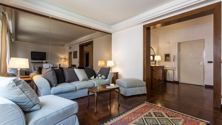 Geräumige 2-Zimmer zu vermieten in Tor di Quinto, Rom