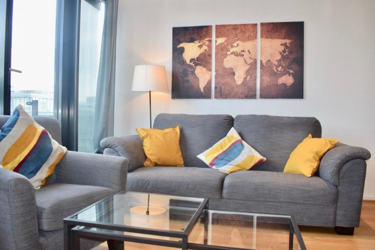 Luxury 3-bedroom flat to rent in Silicon Docks, Dublin