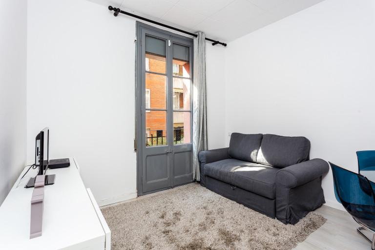 Apartamento estilistico com 3 quartos para alugar em Barcelona