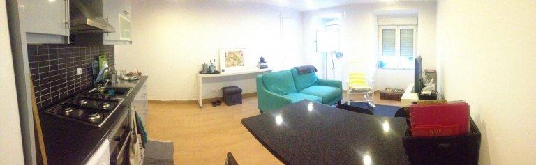 Przytulne 1-pokojowe mieszkanie do wynajęcia w Ajuda, Lizbona