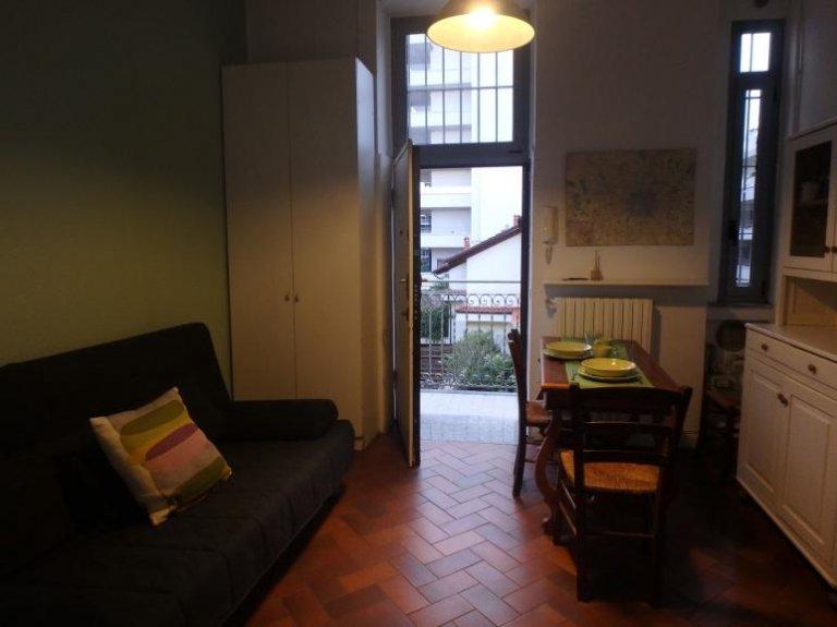 Apartamento de 1 dormitorio en alquiler en Tortona, Milán