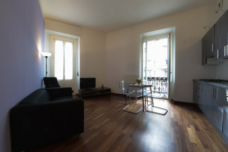 Chic 2-bedroom apartment for rent in Porta Venezia, Milan