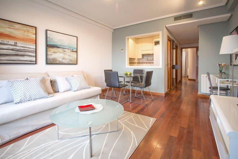 Appartamento in affitto in Chamartin, Madrid 1 camera da letto