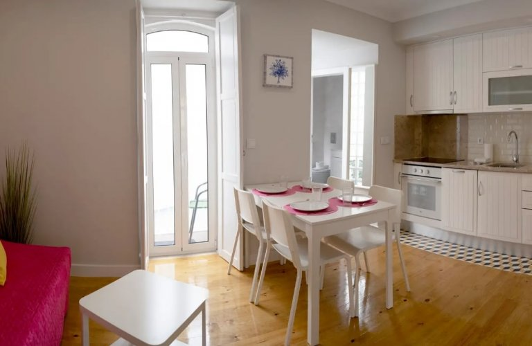 2-bedroom apartment for rent in Anjos, Lisbon