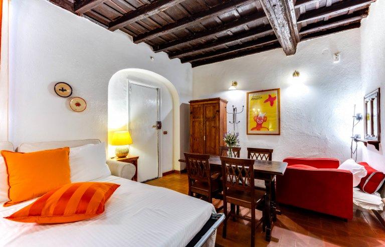 Appartement confortable avec 1 chambre à louer à Trastevere, Rome