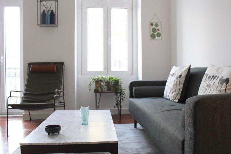 1-pokojowe mieszkanie do wynajęcia w Penha França, Lizbona