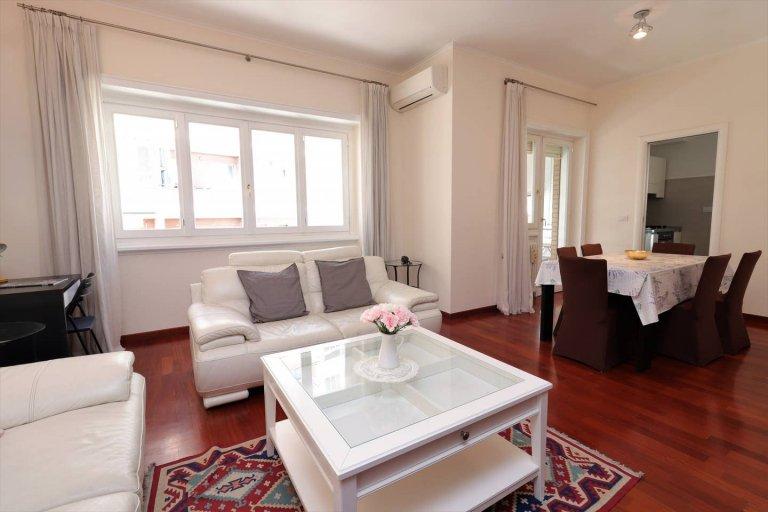 Appartement paradisiaque avec 2 chambres à louer à Aurelio, Rome