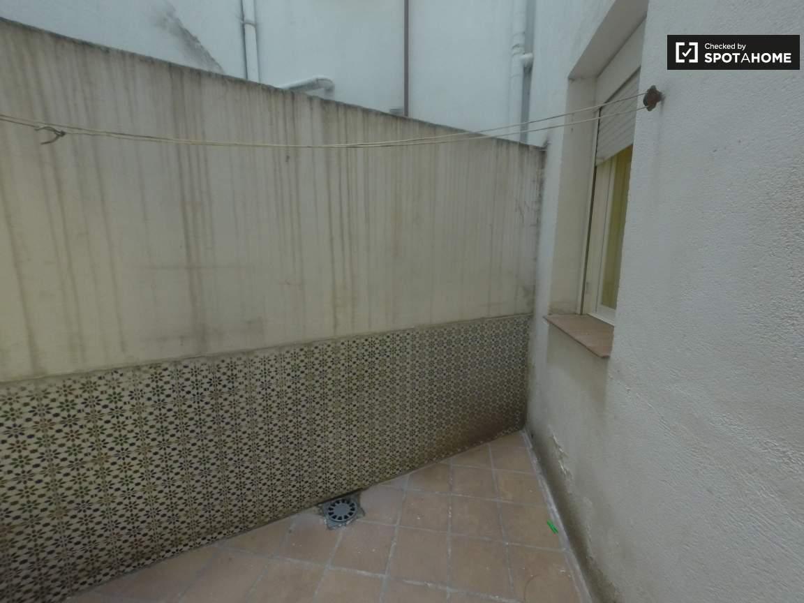 Interior patio