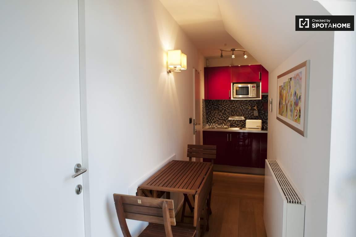 Dining area in hallway