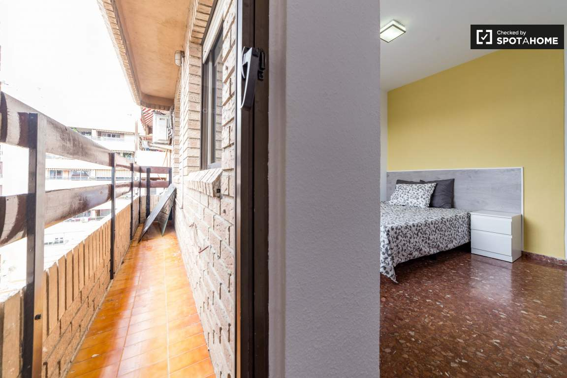 Balcony Bedroom 2